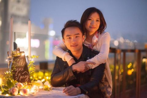 Asian Engagement Photography