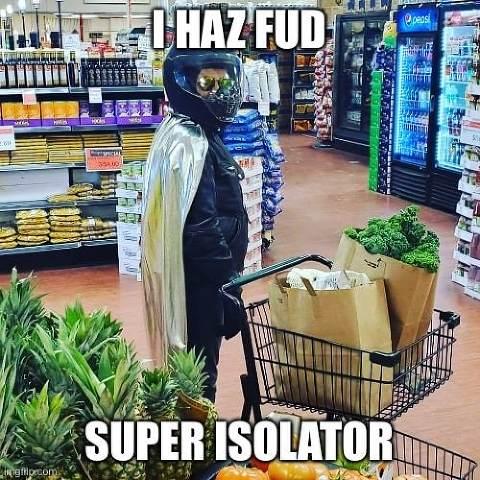 Super Isolator I Haz Fud
