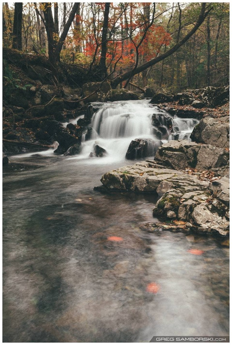 Small Waterfall Russia