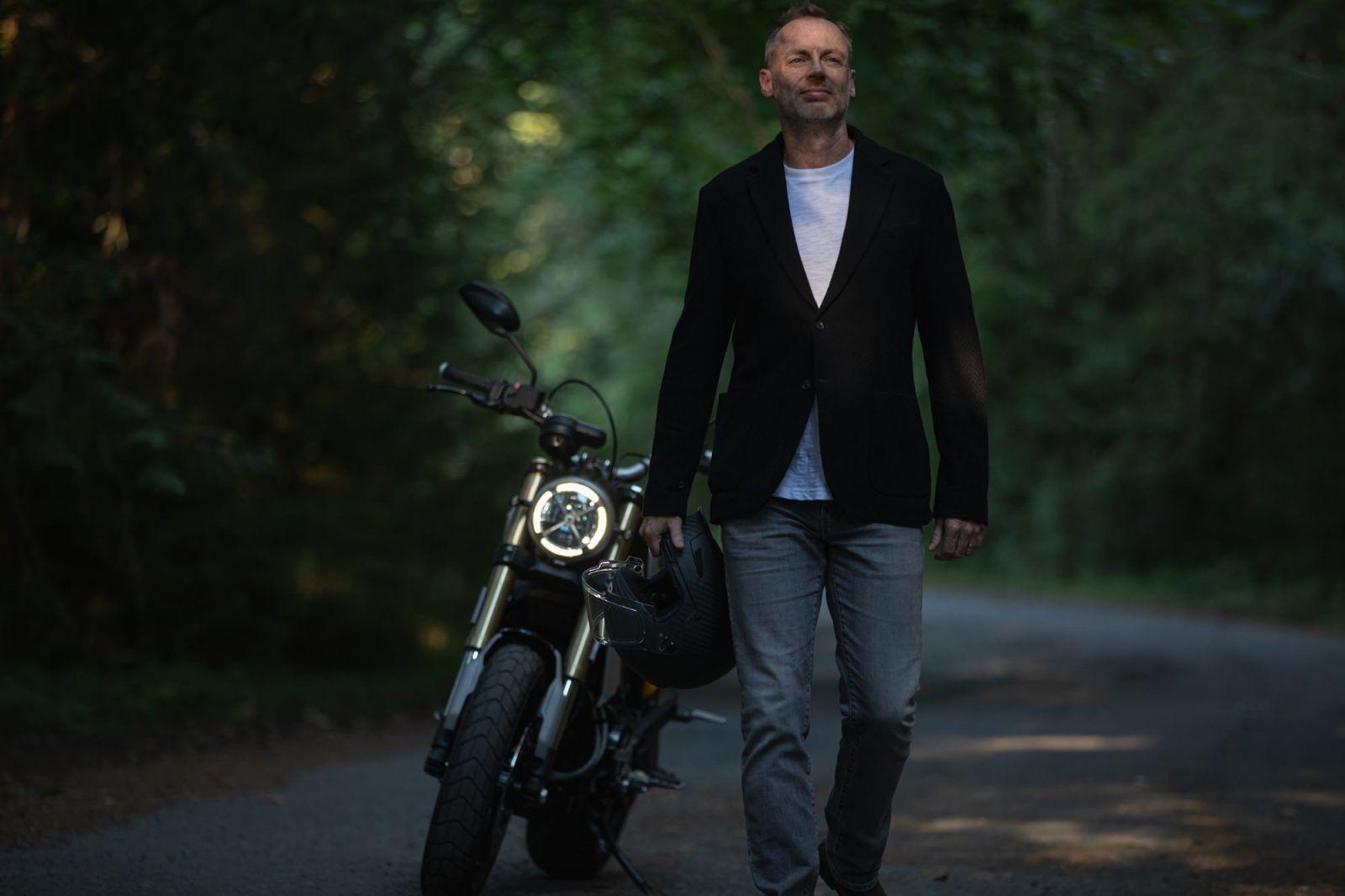 Vancouver Island Motorcycle Lifestyle Photographer