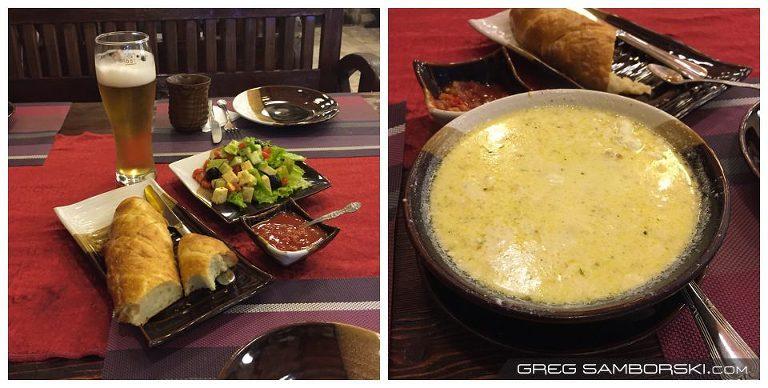 Georgian Restaurant Food