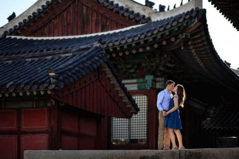 Seoul Palace Engagement Photographer