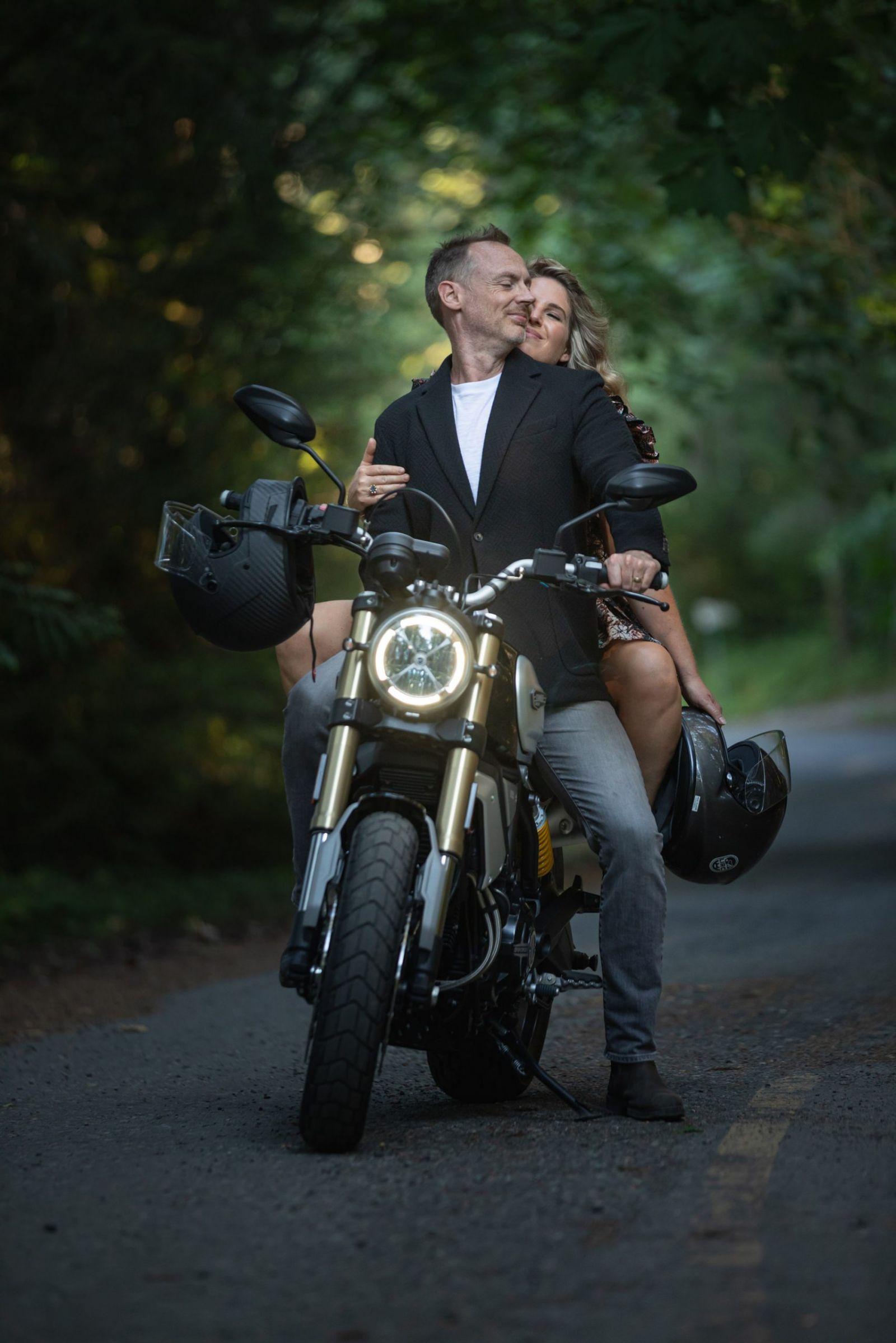 Motorcycle Couple Photos