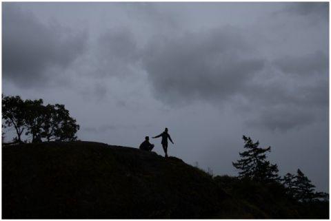Victoria Engagement Photographer Thetis Lake