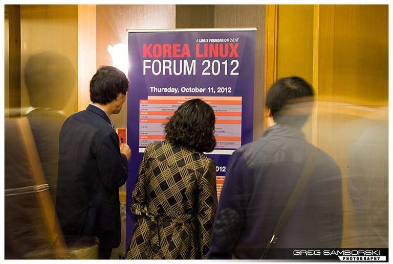 Seoul Event Photographer | Korea Linux Form 2012