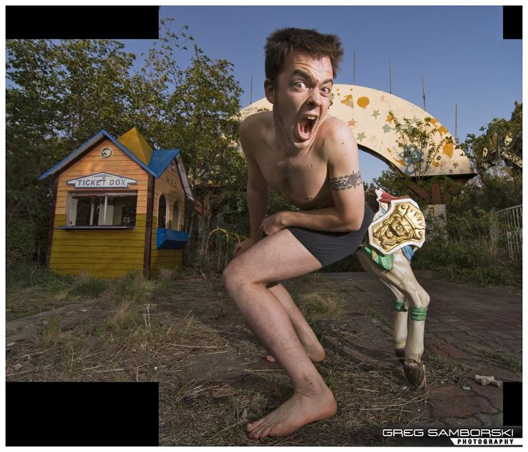 110|365 Centaur Boy - Okpo Land Amusement Park - Out Take 3