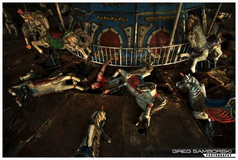 110|365 Under the Carrousel - Park of Horrors