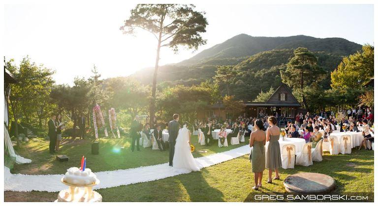Hazel & Bill's Outdoor Wedding