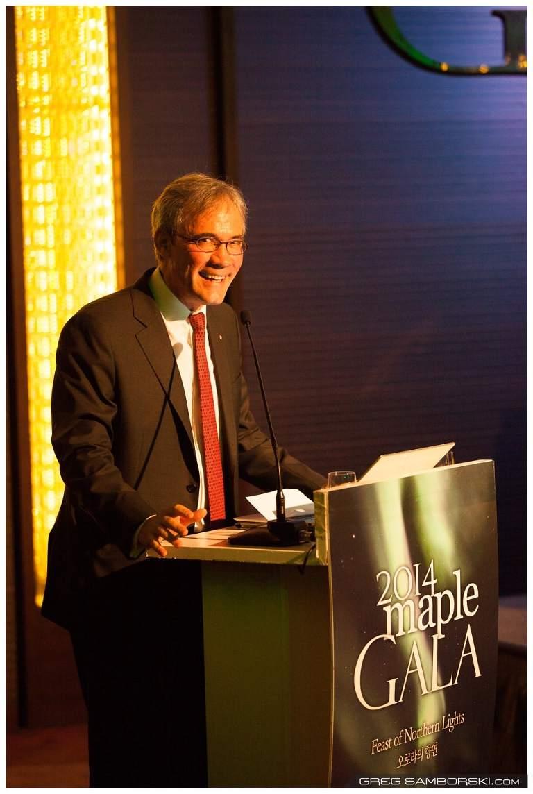 Canadian Ambassador David Chatterson CanCham