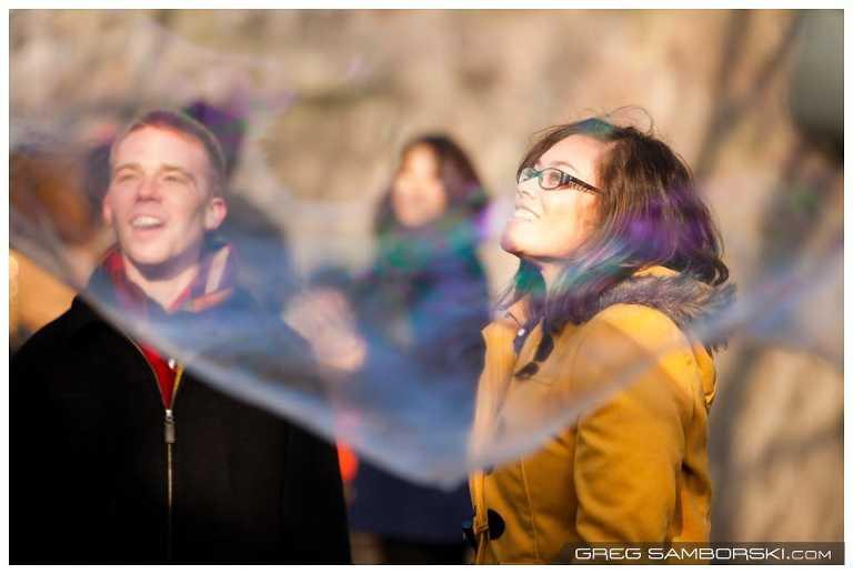 Seoul Winter Engagement Photos