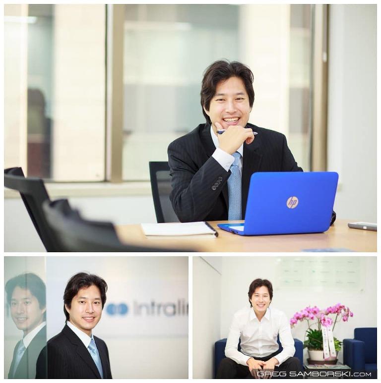 Seoul Corporate Headshot Photographer