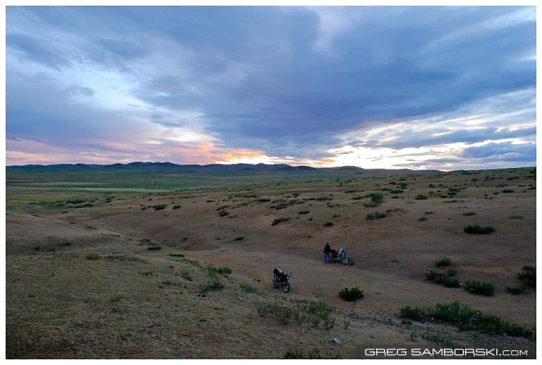 Exposed Camping Spot in Mongolia