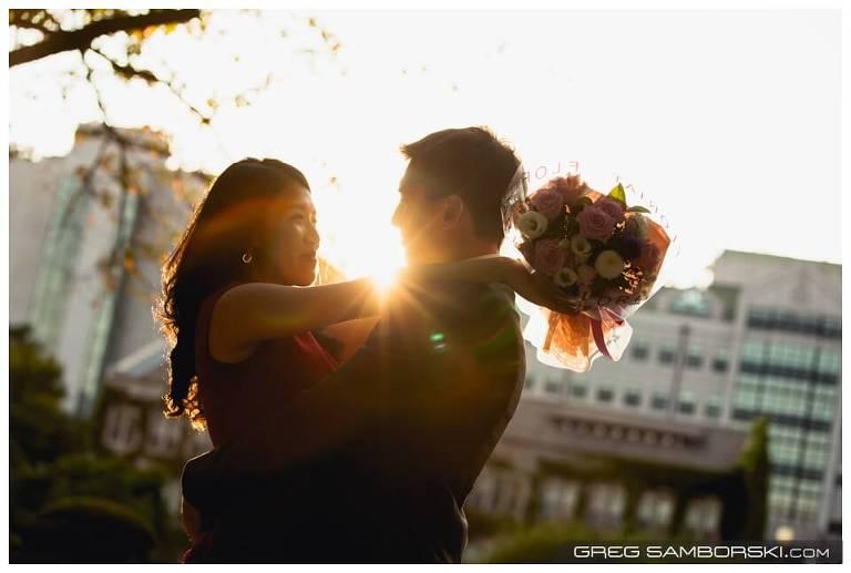 Paparazzi Proposal Photographer Korea Yonsei