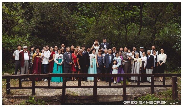 Korea Wedding Group Photo