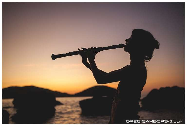 14-Clarinet-Player-Silhouette
