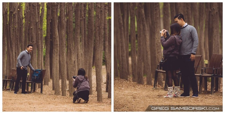 Proposal Photographer in Seoul Korea
