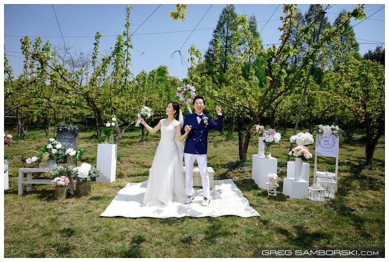 Korea Outdoor Wedding Photographer
