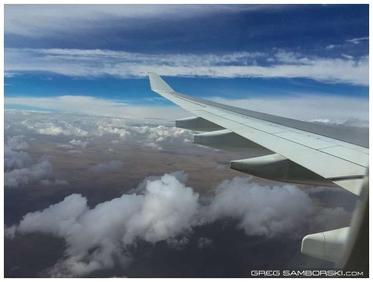 Clouds over Ulaanbaatar Mongolia