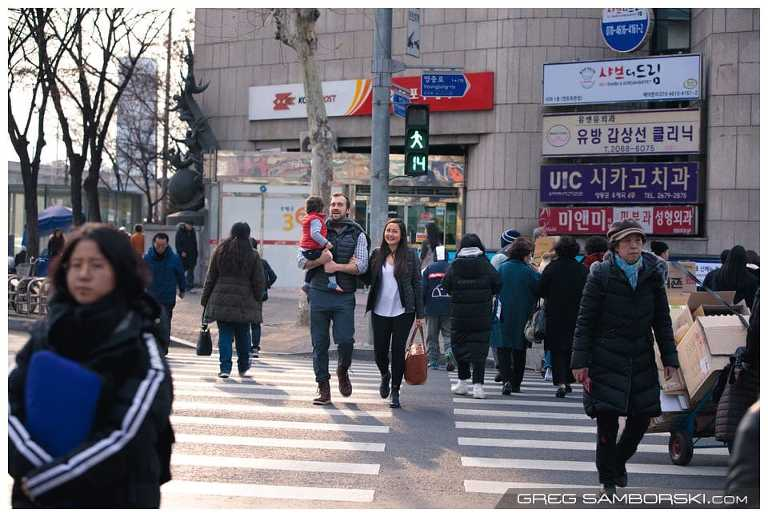 Candid Family Photos in Seoul