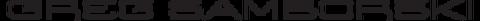 Greg Samborski Photography Logo